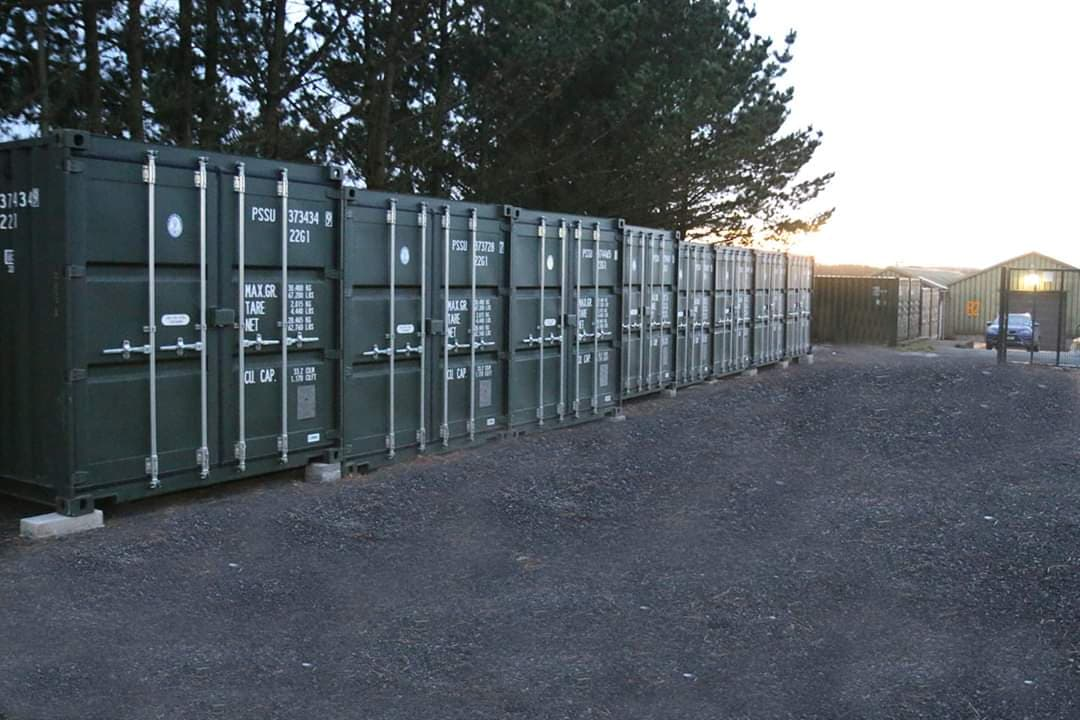 Storage containers in Torpoint